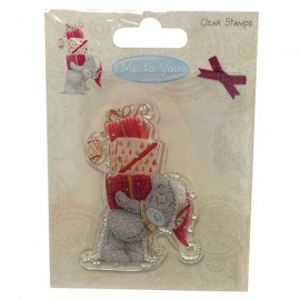 Me to You Christmas Clear Stamps Presents